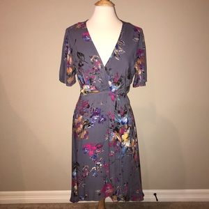 Jodifl Floral Wrap Dress Size Large